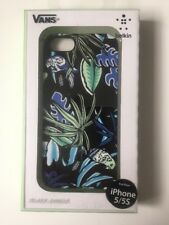 Belkin Vans Black Jungle Hülle Case iPhone 5 5S Neu in OVP