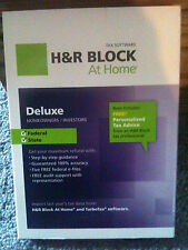 H&R Block At Home 2012 Deluxe + State
