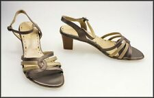 Medium (B, M) Block Multi-Colored Heels for Women