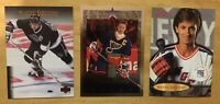 Wayne Gretzky (3) Hockey Cards