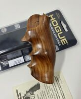Hogue 58300 Exotic Pau Ferro Wood Grip DAN WESSON Large Fr. Revolver, Round Tang
