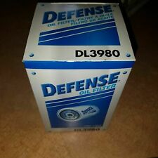 Engine Oil Filter Defense DL3980 lot of 10