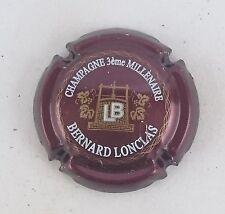 capsule champagne LONCLAS bernard 3eme millenaire n°4 marron