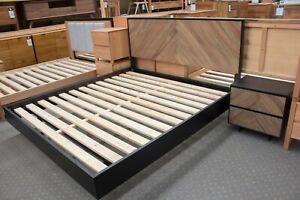 Lilydale - 3 Piece Bedroom Suite - King or Queen - Solid Messmate & Oak Timber