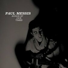 PAUL MESSIS Songs Of Our Times RED vinyl LP + MP3 garage punk folk Higher State