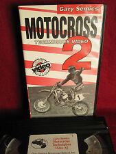 Rare 1993 Gary Semics Motocross Techniques Video #2 team Honda How to: 65 mins