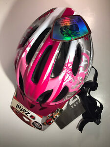 Zefal Pink White Silver Bicycle Helmet Model 5681 Adult 14+ Size Large 20 vents