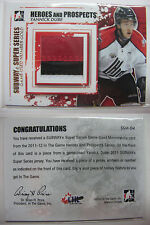 2011-12 ITG Heroes and Prospects SSM-04 Yannick Dube 1/1 number gold 1 of 1 rc