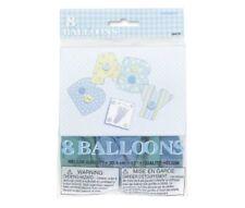 Runde Partyballons für die Geburt