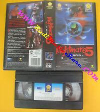 VHS film NIGHTMARE 5 IL MITO 1990 Stephen Hopkins PENTA VIDEO PEPITE(F118)no dvd