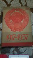 REVISTA URSS EN CONTRUCCION EDICION ESPECIAL 1937