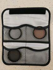 52mm Tiffen Filter Scene Makers Kit UV, 812, Polarizer with 4-Pocket Filt. Pouch