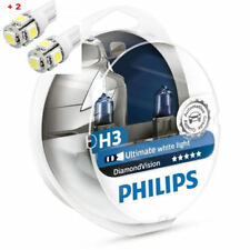 Philips Diamond Vision H3 Twin - 2 free LED T10/W5W