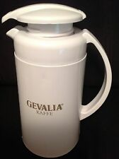 Gevalia Kaffe Thermal Saver White Pitcher Pre-owned Great Condition