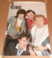 The Pretenders #8084 Vintage Poster RARE 24x36