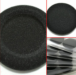 Replacement Foam Pads For Panasonic RP-HT21 Lightweight Headphones with XBS