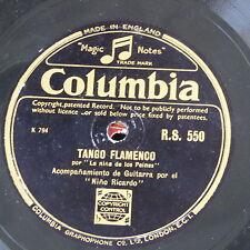 78rpm NINO RICARDO tango flamenco / sevillanas RS 550