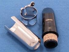 NEW Yamaha 4C Clarinet mouthpiece, ligature, metal cap, fits YCL-250,Model 20