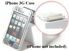 IPC Clear Apple iPhone 3G Premium Case Cover Smooth Plastic Hard Case