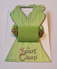 Scarf Clasp Clip Holder Lime Green Stone Magnetic Jewelry Scarves Shawl