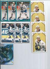 Matt Stajan  03/04  11-RC Rookie Card Lot  w/SP