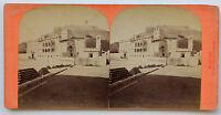 Monaco Il Palazzo Del Principe Foto Vintage Albumina Ca 1870