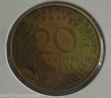 20 centimes marianne 1965 : TTB : pièce de monnaie française