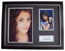 Katie Melua Signed FRAMED Photo Autograph 16x12 display Music Memorabilia COA
