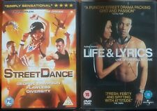 STREET DANCE/LIFE & LYRICS DVDS