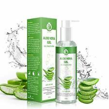 Gel d'Aloe Vera 100 % Bio Gel Hydratant Visage & Corps Cheveux Crème Aloe Ver...