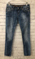 Rock Revival The Bucks Jasmine Bootcut Jeans Size 28 Inseam 31 Thick Stitch