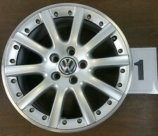 1x Original Alufelge VW Golf 5 6 Jetta 1K0601025K Grand Prix 7Jx17 ET54