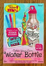 It's So Me Color Your Own Water Bottle-New