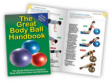 BODY BALL HANDBOOK - Exercise Guide - Fitness Chart - Physio Book - The Great