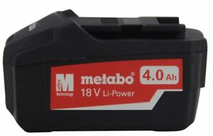Metabo Akkupack 18 V 4,0 Ah Li-Power Ersatzakku 625591000