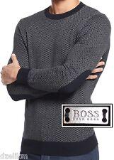 NWT Hugo Boss Black Label By Hugo Boss Slim-Fit Cotton-Wool Sweater Size XXL