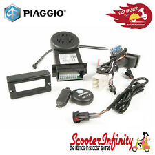 Alarm System plug&play Genuine PIAGGIO e-Power Vespa GT/GTS/GTV (See Fits LIST)