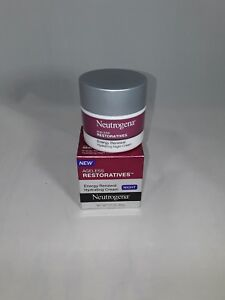 Neutrogena Ageless Restoratives Energy Renewal Hydrating Night Cream 1.7 oz