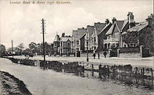 High Wycombe. London Road & River.