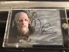 Buffy Tvs - Sea 6 - James C. Leary As Clem Autograph Card - A34 - NrMt