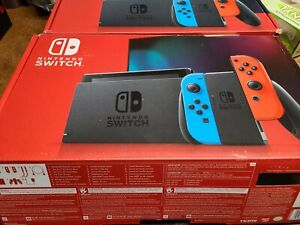 Nintendo Switch with Neon Blue and Red Joy-Con 32GB