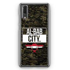 Huawei P20 Hard Cover Hülle Al Bab City Camouflage Syrien Motiv Design Syrisch