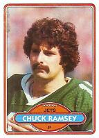 1980 Topps Football #s 177-352 +Rookies - You Pick - Buy 10+ cards FREE SHIP