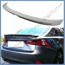 Pick Color 2014+ LEXUS IS250 IS350 ISF F Sporty Type Trunk Lip Spoiler Tail Wing