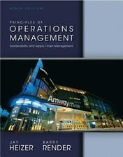 Principles of Operations Management-Barry Render & Jay Heizer(9th Edition) eBook