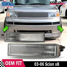 For Scion xB 2003-2006 Factory Replacement Fit Fog Lights + Switch Clear Lens