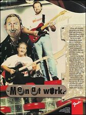 James Burton & Jerry Donahue Signature Fender Telecaster guitar 8 x 11 ad print