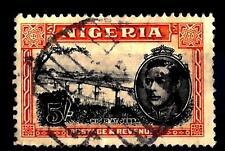 Nigeria-1938-51-Série courante - Filigrane CA multiple