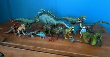 Jurassic Park World Action Figures Dinosaurs Lot Stegosaurus Velociraptor