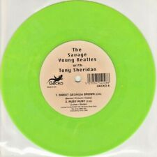 """The Savage Young Beatles With Tony Sheridan – Sweet Georgia Brown. 7"""". Mint"""